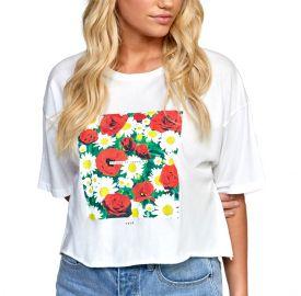 RVCA Γυναικεία κοντομάνικη μπλούζα